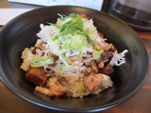 ふじの東中野山 白山味噌ラーメン ランチチャーシュー丼