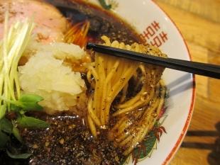 清水新潟東 六日町ブラック 麺スープ