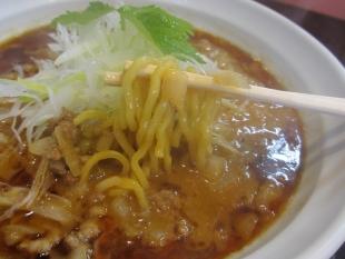 泰紋 赤ラーメン 麺