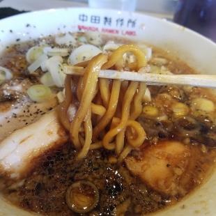 中田製作所 背脂ブラック 麺
