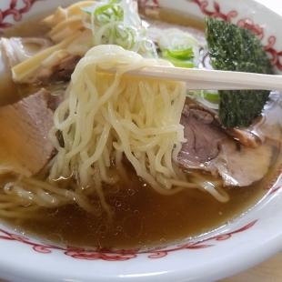 麗人 チャーシュー麺 麺スープ