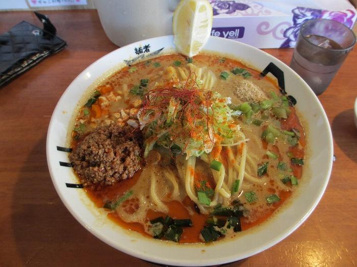 風天小針 辛肉担々麺
