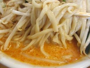 フタツメ白根 辛いタンメン 麺スープ