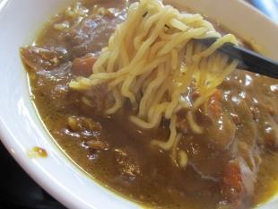 はらや カレーラーメン 麺スープ