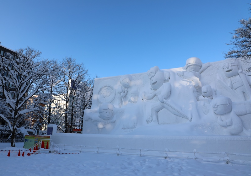 さっぽろ雪まつり1200206