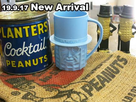 Mr.ピーナッツ!S&P(セラミック)や麻袋、缶などレアなヴィンテージUP!