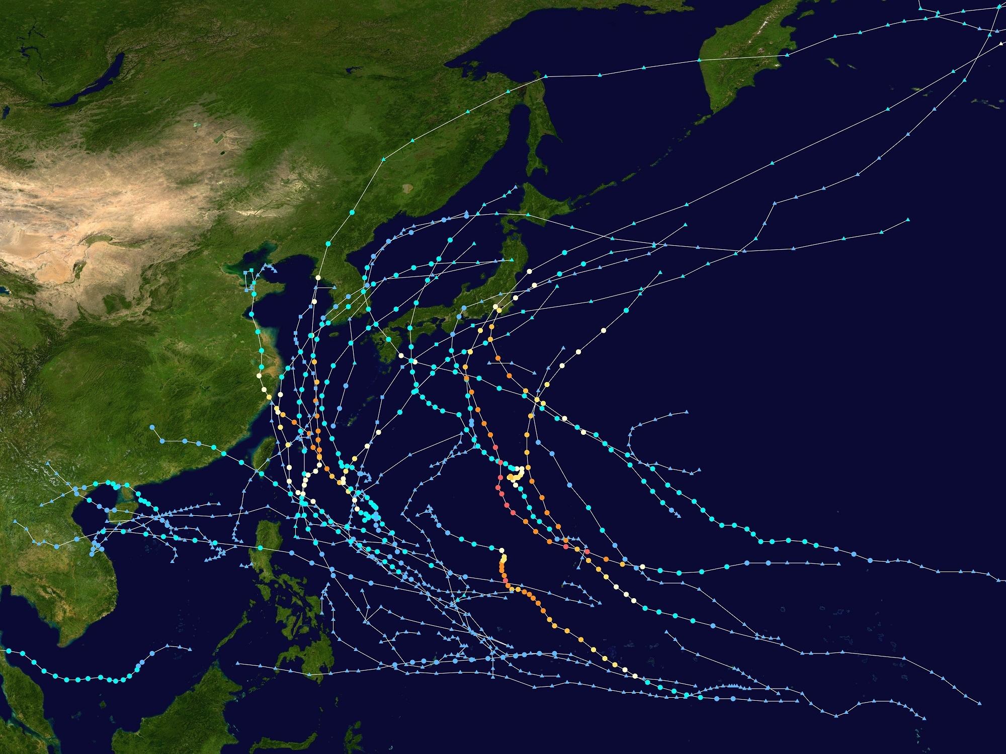 2019‗台風軌道