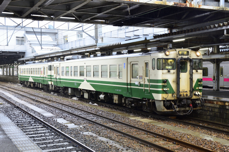 1/6-9 東北まったり乗りつぶしツアー2020 その14(男鹿→秋田) 秋田駅で暇つぶし