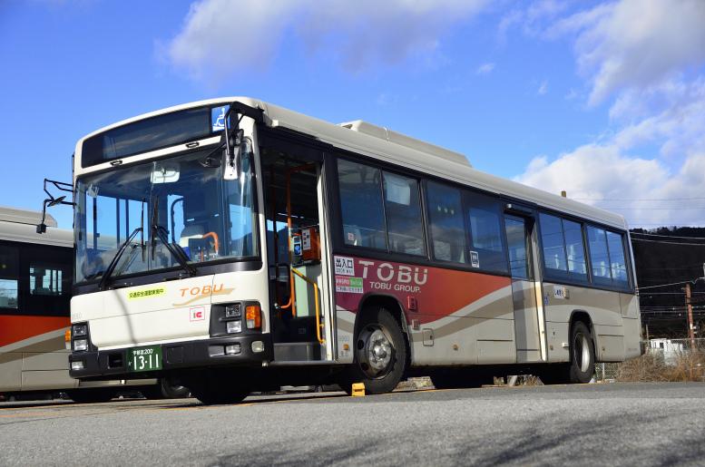 東武バス日光 9860(宇都宮200か1311)