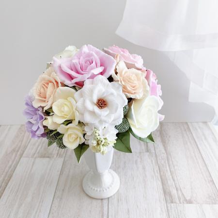 クレイ お花 (1)