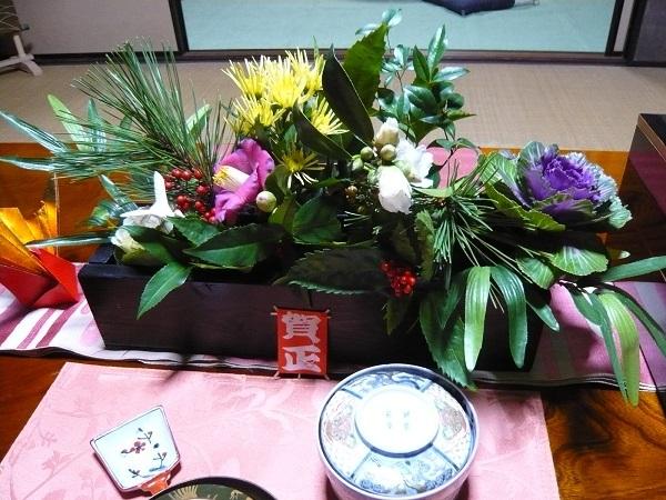 正月のテーブルコーディ