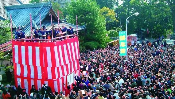 湯神社初子祭