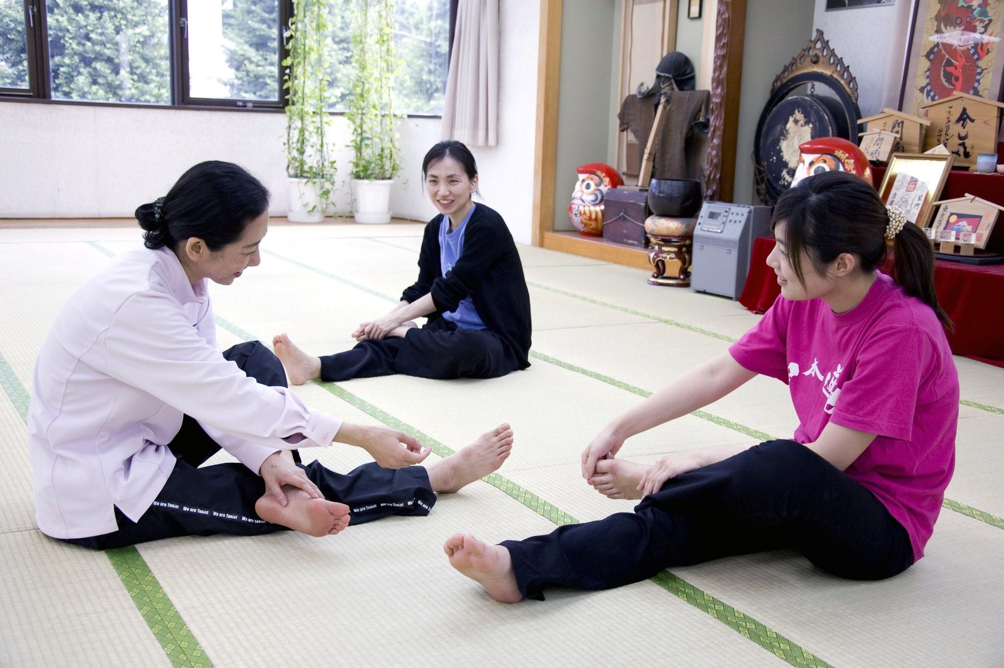 帯広で習える☆ 気功の大元、導引術 「気のトレーニング」で気の巡りをよくし、心も体もポカポカに!