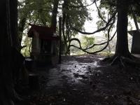 倉澤平治右衛門の屋敷跡