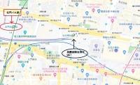 台北 北門バス停 965番