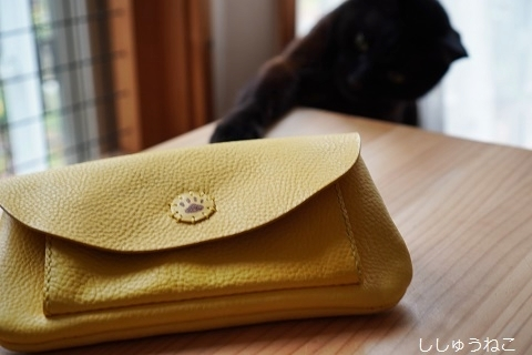 Jkと黄色い財布バッグ 1