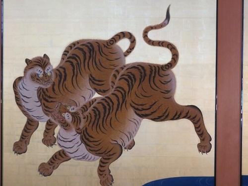 IMG_3484 玄関・二之間の虎