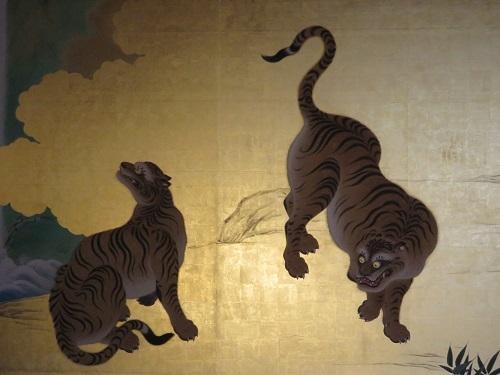 IMG_3486 玄関・一之間の虎