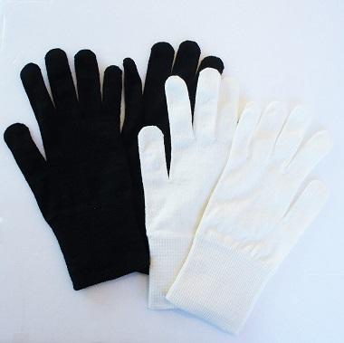 大法紡績・冷えとり手袋1