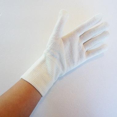大法紡績・冷えとり手袋4