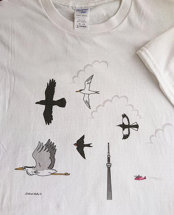 飛ぶ鳥TシャツsDSC_0580