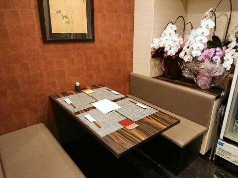 テーブル席1卓@小料理咲