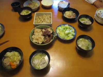 011004夕食