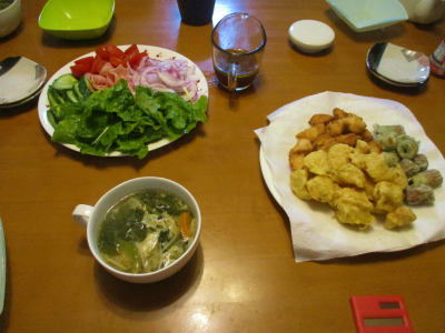 011011夕食