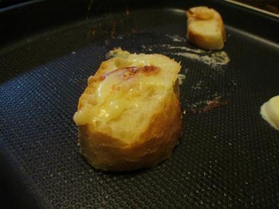 011105チーズ乗せパン