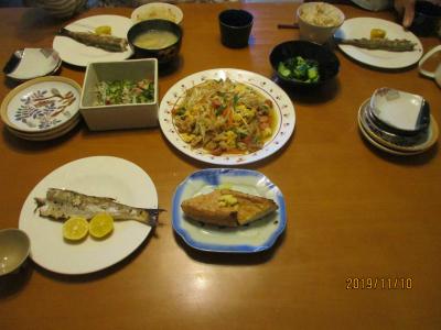 011110夕食
