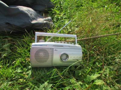011115ラジオを聞きながら