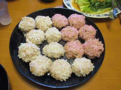 011116餅米皮の焼売