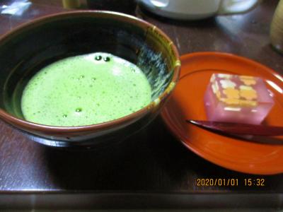 200102抹茶と和菓子