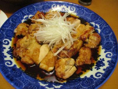 200111定番の酢鶏