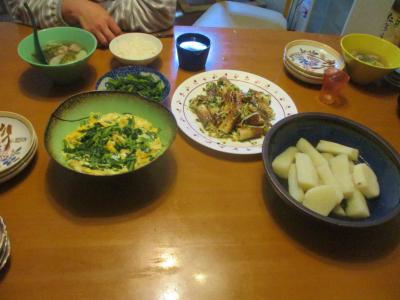 200124夕食