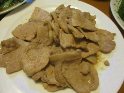 200126豚肉のしょうが焼き