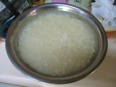 200209塩麹の仕込み