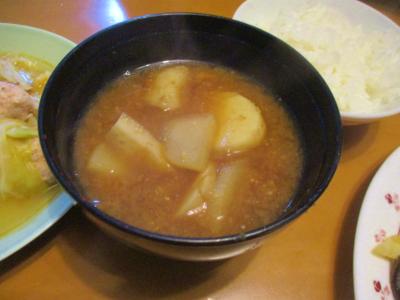 200209里芋と大根の味噌汁