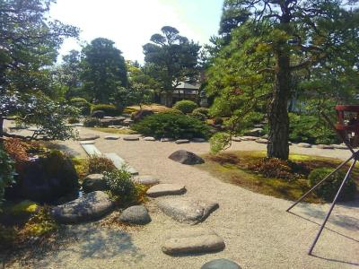200221羽根屋から見える庭園