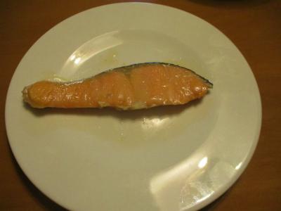 200224鮭の塩焼き