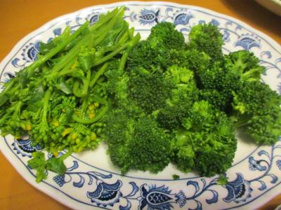 200302アスパラ菜とブロッコリー