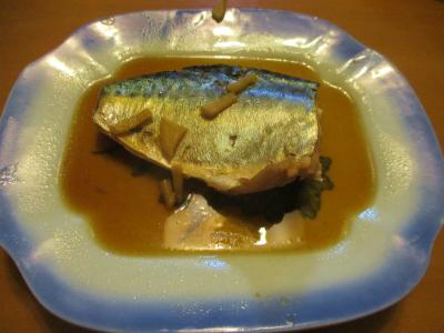 200315鯖の煮付け