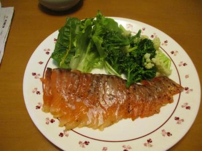 200320スモークサーモンと野菜