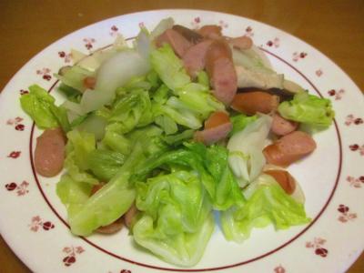 200328春野菜の炒め物