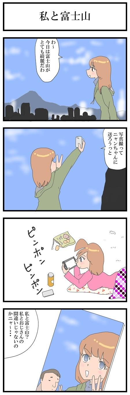 私と富士山75