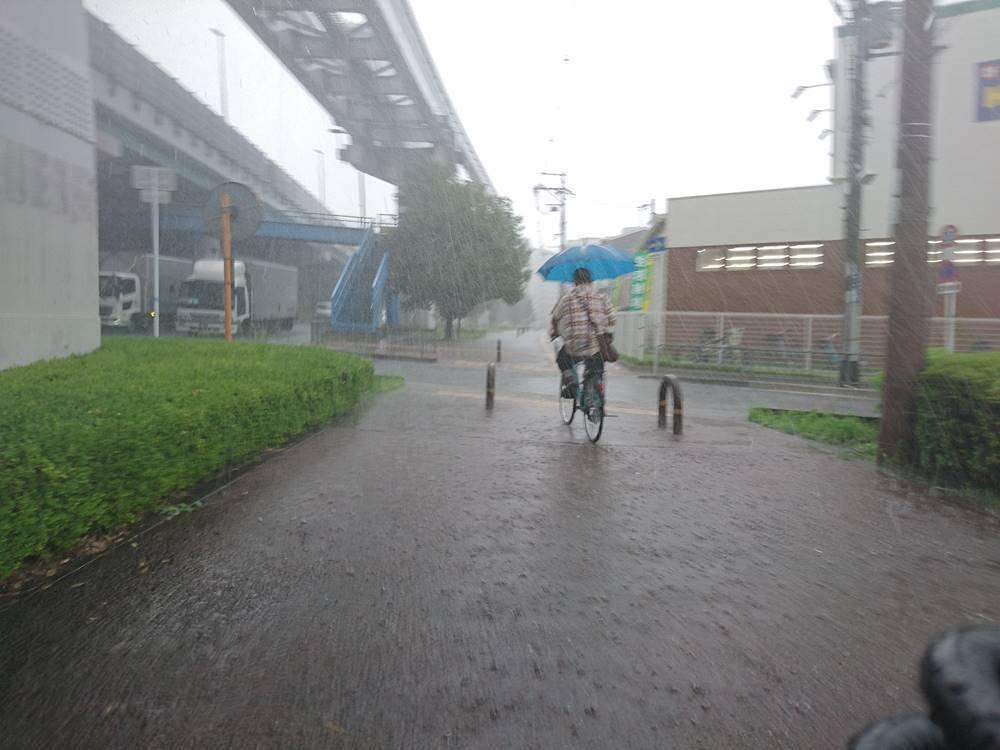 合計55kmのロングライド サイクリング 地獄の集中豪雨 2019年9月5日