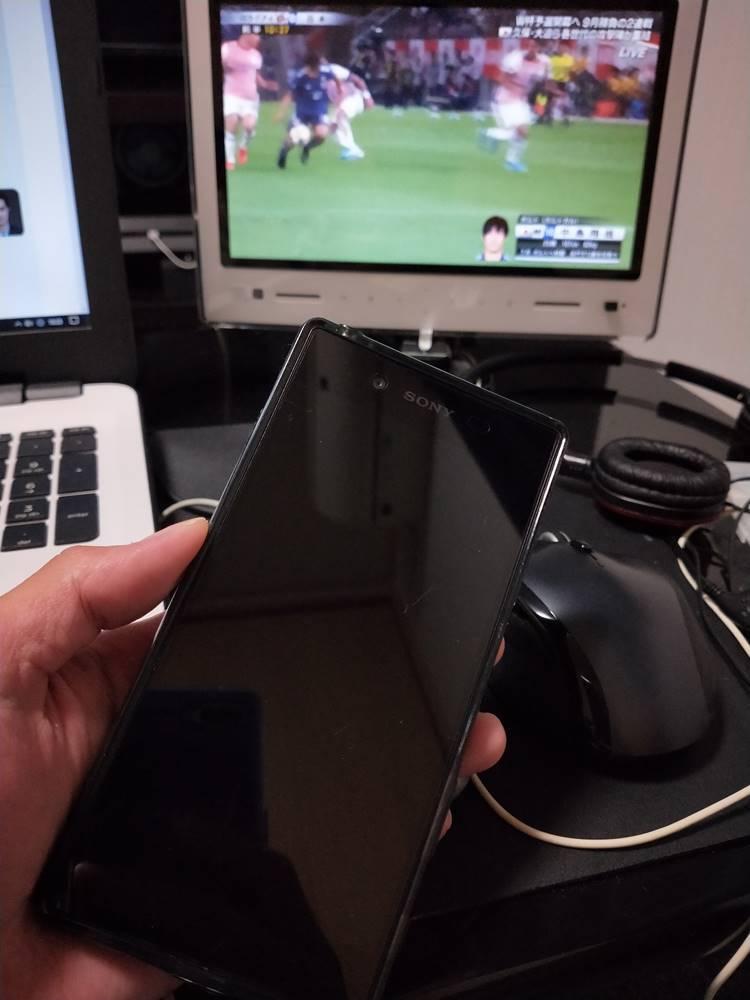 Xperia Z5のタッチパネルが直った
