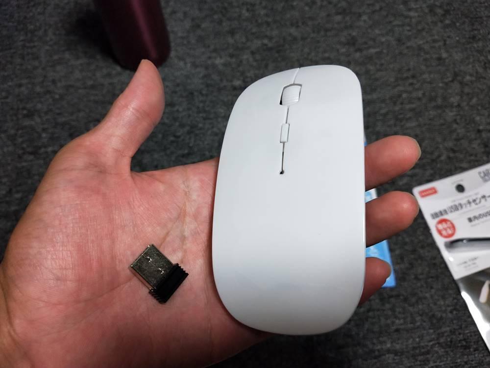 【分解】 ダイソー 300円ワイヤレスマウスの改善