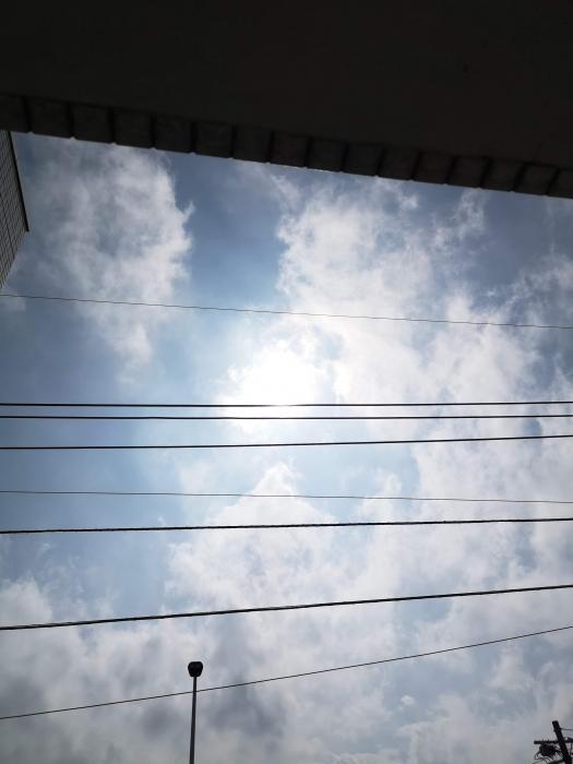 正午ごろのお空