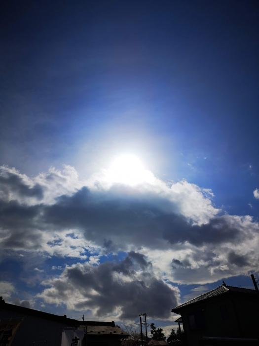 正午過ぎのお空